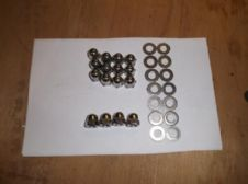 Wheel nut set - domed